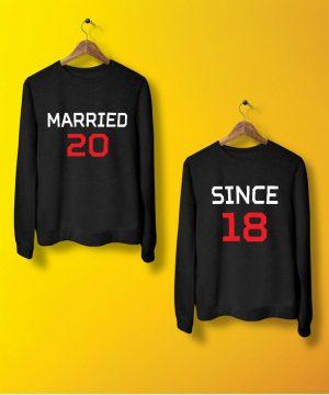 Married Since Sweatshirt By Teez Mar Khan - Pickshop.pk
