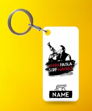 Mera Faisla Nawaz Keychain By Teez Mar Khan - Pickshop.pk