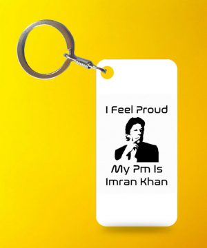 My Pm Imran Keychain By Teez Mar Khan - Pickshop.pk