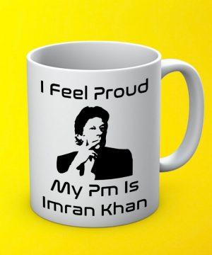 My Pm Imran Mug By Teez Mar Khan - Pickshop.pk