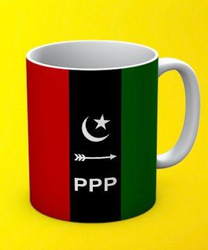 Ppp Mug By Teez Mar Khan - Pickshop.pk