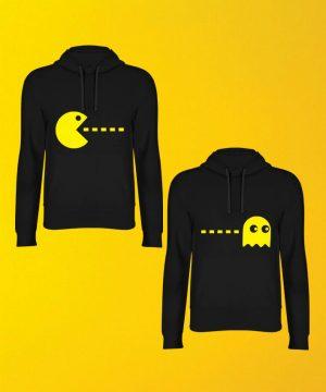 Pacman Hoodie By Teez Mar Khan - Pickshop.pk