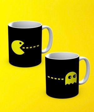 Pacman Mug By Teez Mar Khan - Pickshop.pk
