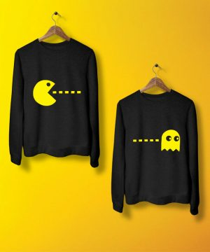 Pacman Sweatshirt By Teez Mar Khan - Pickshop.pk