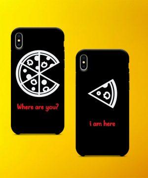 Pizza And Slice Mobile Case By Teez Mar Khan - Pickshop.pk