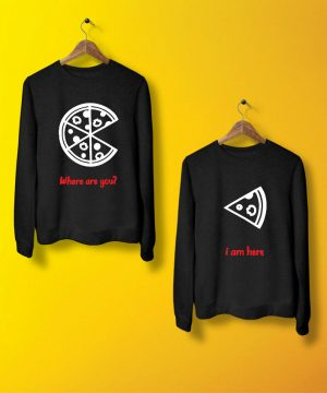 Pizza Slice Sweatshirt By Teez Mar Khan - Pickshop.pk