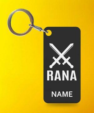 Rana Cast Key Chain By Teez Mar Khan - Pickshop.pk