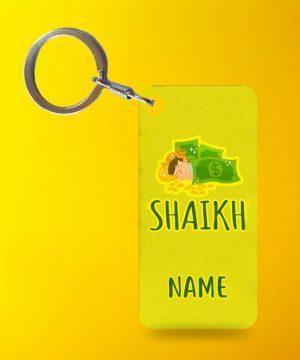 Shaikh Cast Key Chain By Teez Mar Khan - Pickshop.pk