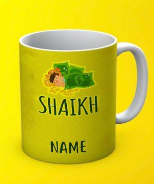 Shaikh Cast Mug By Teez Mar Khan - Pickshop.pk