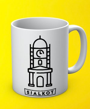Sialkot City Mug By Teez Mar Khan - Pickshop.pk