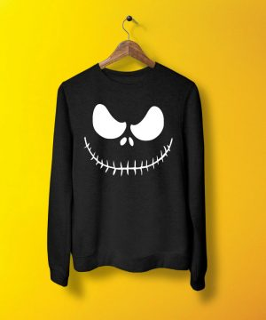 Spooky Smile Sweatshirt By Teez Mar Khan - Pickshop.pk