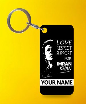 Support Imran Keychain By Teez Mar Khan - Pickshop.pk