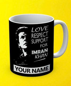 Support Imran Khan Mug By Teez Mar Khan - Pickshop.pk