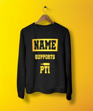 Support Pti Sweatshirt By Teez Mar Khan - Pickshop.pk
