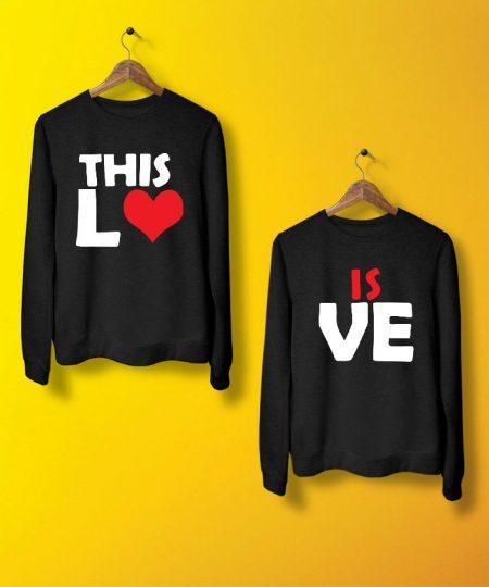 This Is Love Sweatshirt By Teez Mar Khan - Pickshop.pk