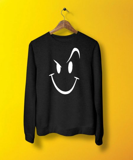 Wink Smile Sweatshirt By Teez Mar Khan - Pickshop.pk