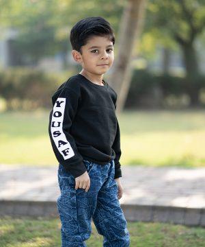 Kids Arm Sweatshirt