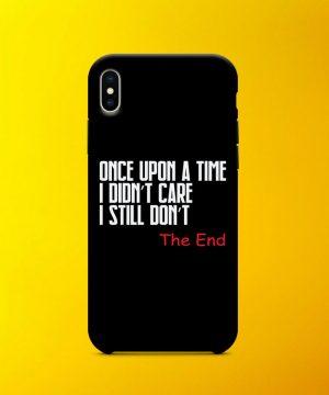 Dont Care Mobile Case By Teez Mar Khan - Pickshop.pk