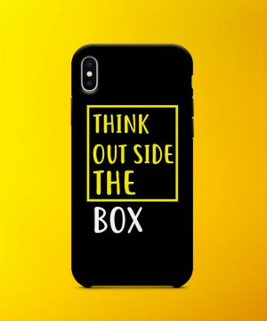 Outside The Box Mobile Case By Teez Mar Khan - Pickshop.pk