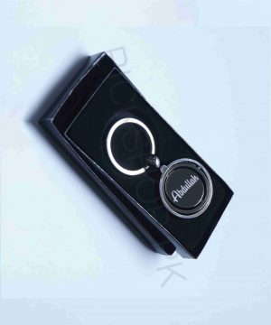 Personalized Name Engraved Round Globe Keychain By Roshnai - Pickshop.pk