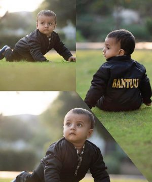 Kids Customized Bomber Jacket