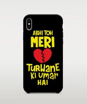 Dil Turwane Ki Umar Hai Mobile case