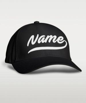Baseball Name Cap