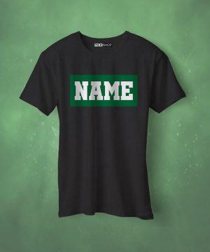 Green Box Name Tee