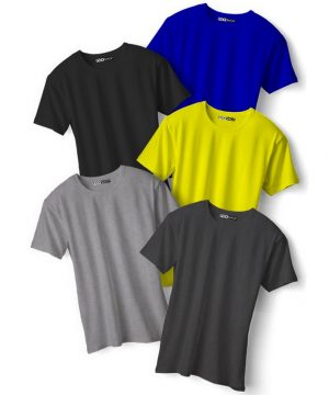 Pack of 5 Any Size Any Color Crew Neck Tees 2