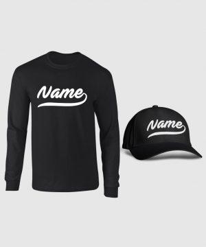 Custom Baseball Full Sleeve and Cap Pack